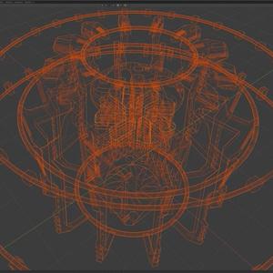 【無料】未来都市3Dモデル「BoolCity」 (FBX/Blender/Unitypackage)