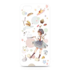 iPhone5/5sケース(クッキングガール)