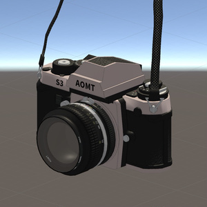 【VRChat向け】フィルムカメラ