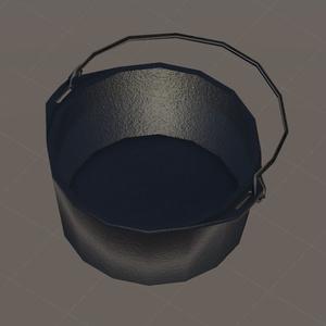 【3Dモデル】アウトドアっぽい調理器具セット