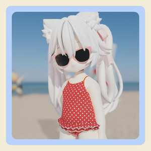 【3Dモデル】「mia -ミア-」ちゃん向け水着