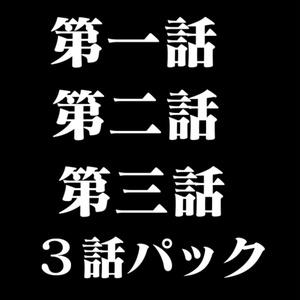NIDAGEKI 第一話 第二話 第三話 3話パック