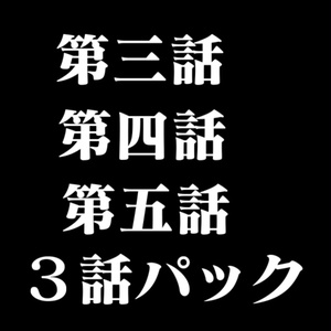 NIDAGEKI 第三話 第四話 第五話 3話パック