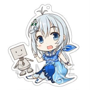 【非公式】2歳新衣装シロちゃん アクリルキーホルダー