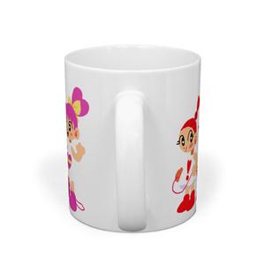 ハート娘ちゃんマグカップ