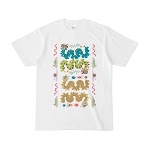 ニョロニョロの者たちシャツ