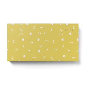 こいしちゃんモバイルバッテリー#04<flake>yellow