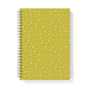 こいしちゃんリングノート#04<flake>yellow
