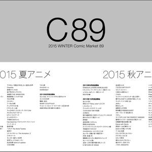 C89_C96:A4サイズのサークル配置図MAP【今後も追加/更新予定】