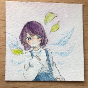 葉っぱの羽