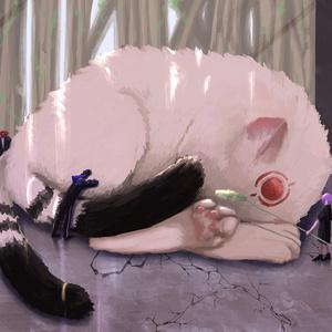 猫様(デジタル原画)