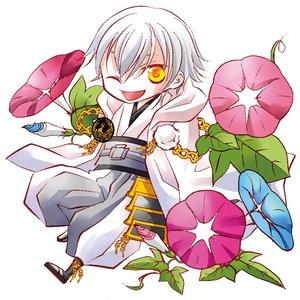 完売【とうらぶ】お花モチーフのアクキー