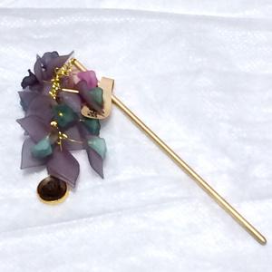 刀剣乱舞 日本号イメージかんざし 藤の花