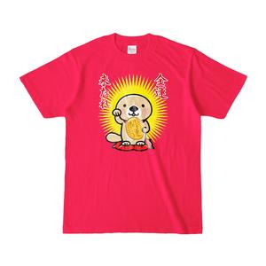 ラッコさん開運Tシャツ(ホットピンク)