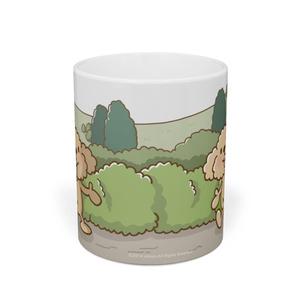 ぷう太郎 お散歩マグカップ