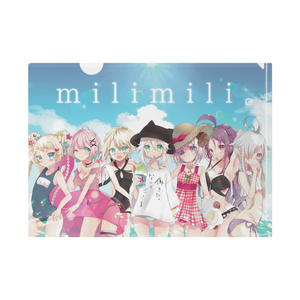 milimili。クリアファイル~Summer ver~