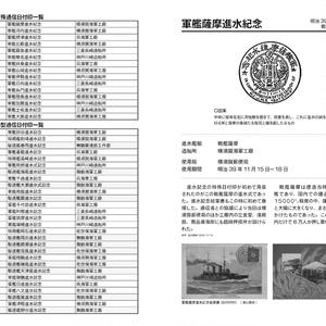 【限定】海軍艦艇進水記念日付印これくしょん