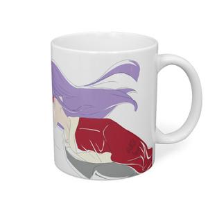 紫ガールマグカップ