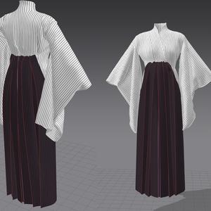 袴っぽい着物