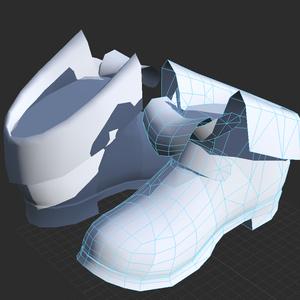 【無料素体】靴