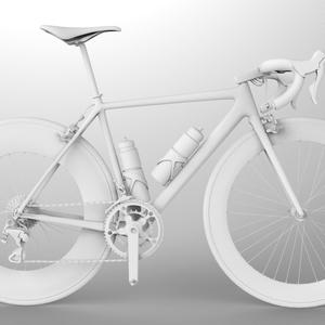 【絵の参考用】ロードバイク(商用可能)