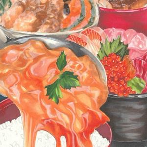ポスカ「FOOD」全4種