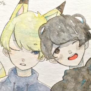 ミニ原画①〜⑥