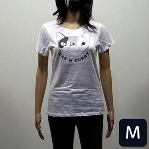 Tシャツ (CAT & CURRY) turmeric