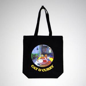 CAT & CURRY トートバッグ (Black)