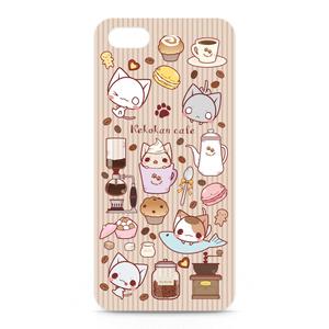 ねこかんカフェiPhone5/SEケース(側面印刷あり
