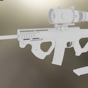 ブルパップ式ライフル「CQR」