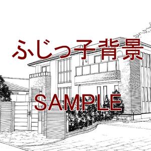 一軒家_住宅街(3)