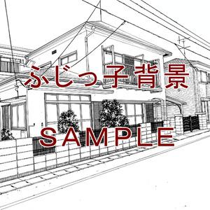 一軒家_住宅街(4)