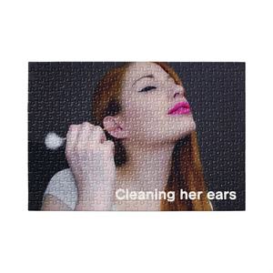 Kira's ear cleaning puzzle