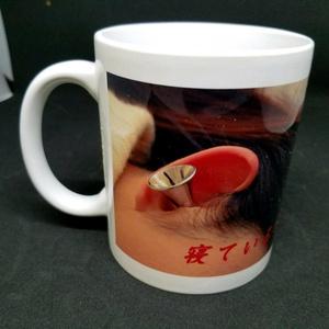 猿耳の女 マグカップ その2(Rika)