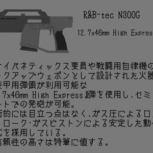 """3Dモデル R&B-tec N300G""""ハンドキャノン"""""""
