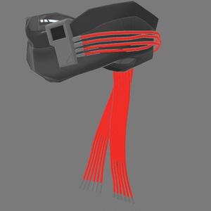3Dモデル mk6・メカニカルマフラー