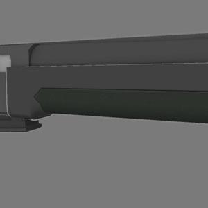 3Dモデル E-Lock2000 ハンディショットガン