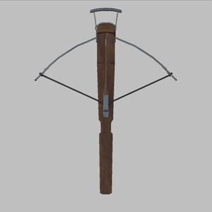 3Dモデル クラシックスタイル クロスボウ