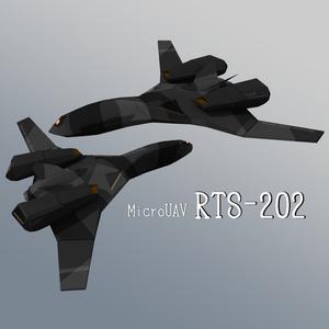 3Dモデル マイクロUAV RTS-202