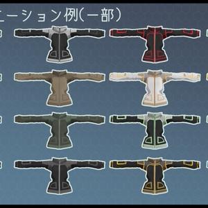 【Leeme&Reeva用】3Dモデル X400ソフトシェルジャケット