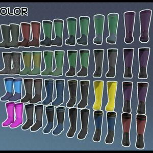 【Leeme&Reeva用】3Dモデル ゴム長靴