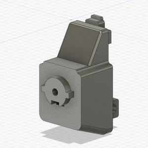 電動ガンAPC9pro-K用 ARストックアダプター