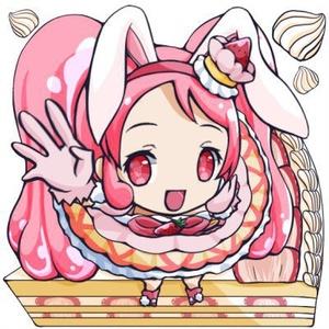 キュアホイップ+ショートケーキアクキー