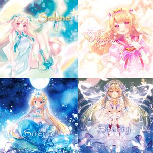 月乃CD-4枚セット-サイン入り有 #Lunamelo