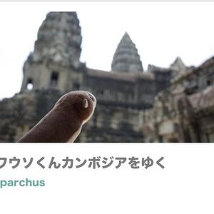 写真集「カワウソくんカンボジアをゆく」