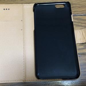 少女(花/ブルー)手帳型iPhoneケース