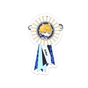 Fate/Go  ロゼット風ピンバッチ◉アーサー