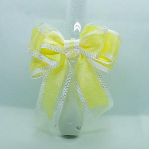 キンブレリボン/pastel_yellow