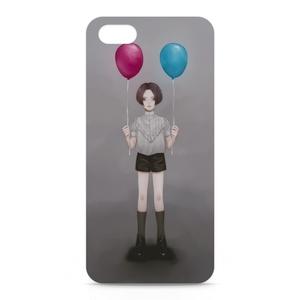 風船 iPhoneケース